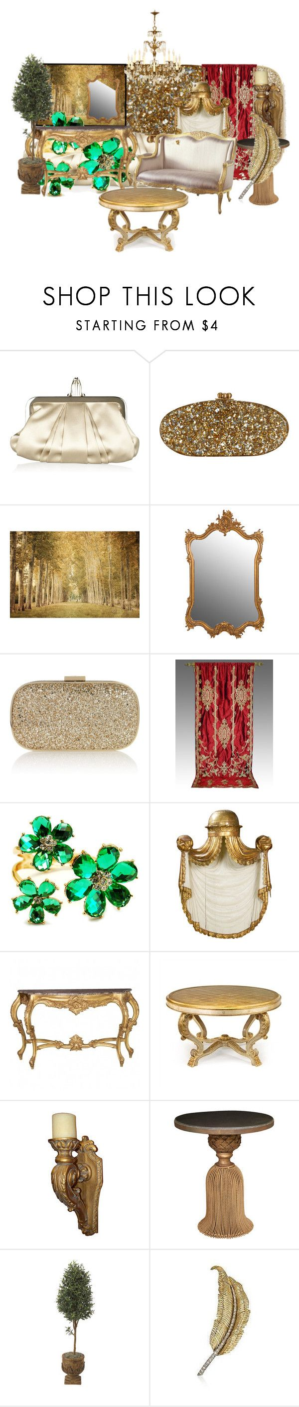 """""""old world charm"""" by ririrara ❤ liked on Polyvore featuring Christian Louboutin, Edie Parker, WALL, Anya Hindmarch, INC International Concepts, Fantasy Jewelry Box, Trianon, John-Richard and furniture"""