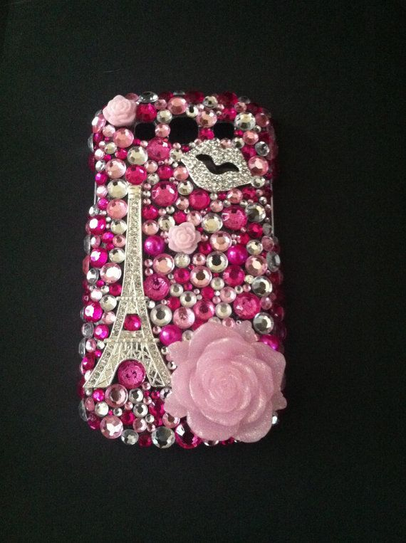 Pink Bling Samsung Galaxy S3 case  by NaturalBelleDesigns on Etsy, $40.00