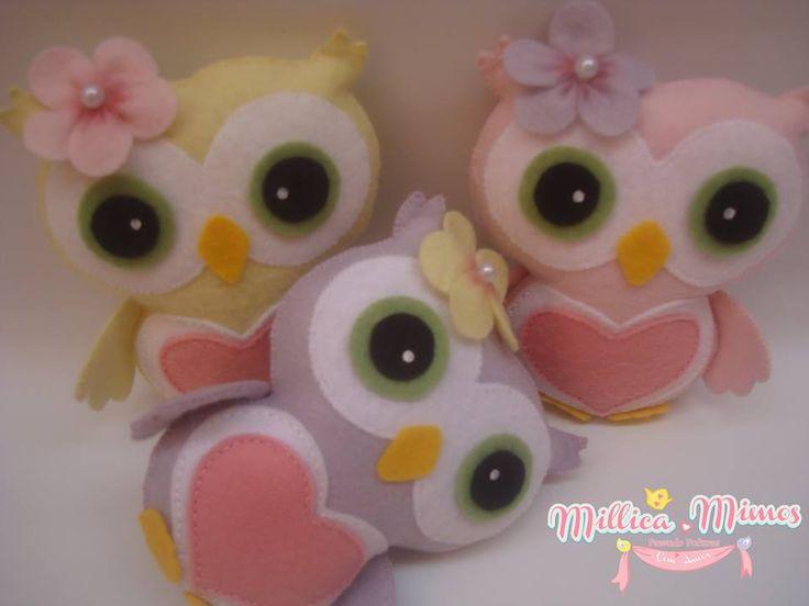felt owl pattern