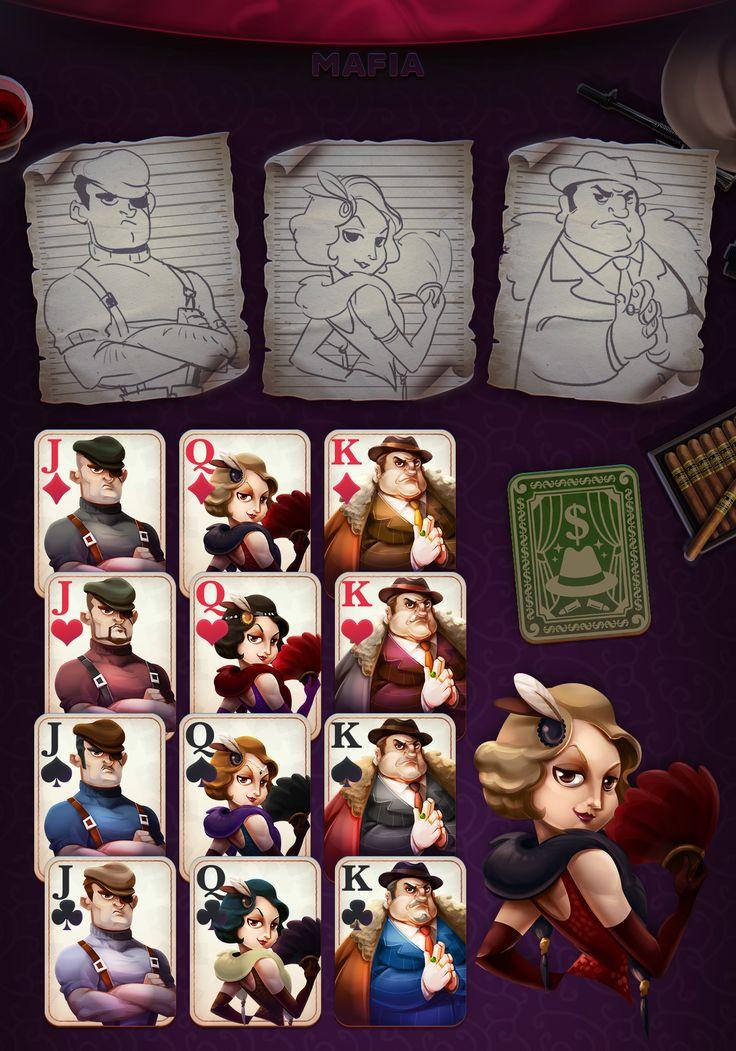 Blackjack mafia char by weirdsgn Game design, Character