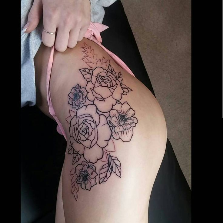 Top 25+ Best Hip Tattoos Ideas On Pinterest