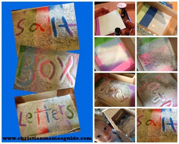 Salt Box Letters