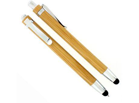 WONDER 2-in-1 #Kugelschreiber / #Touchpen aus Bambus
