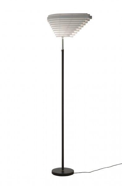 staanlamp A805 / Alvar Aalto / ARTEK