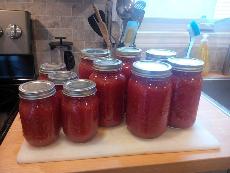 Simple stewed tomatoes — My little corner