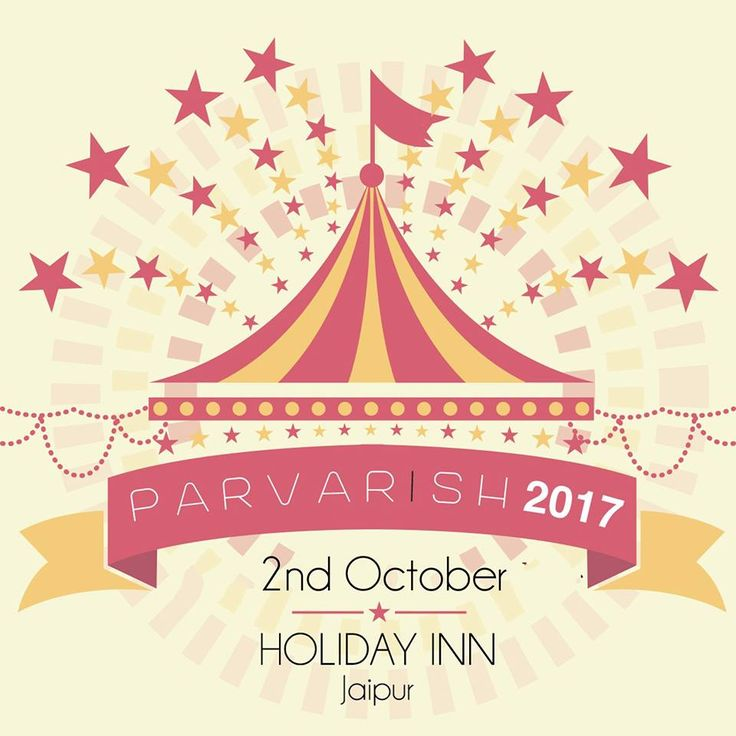 #Parvarish invites budding and seasoned entrepreneurs. DATE: 2nd OCTOBER, 2017 VENUE: THE HOLIDAY INN, Jaipur, Banquet Lawn CALL for booking: 8094377888, 9799996740 #Exhibition #Fashion #Clothing #Accessories #Jewellery #Decor #HomeBaker #Footwear #KidsFashion #Booking #StallBooking # #PARVARISH #PinkHillEvents #CityShorJaipur