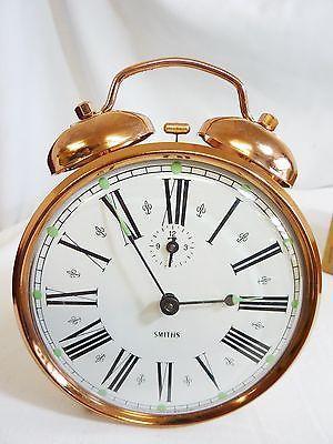 Superb Vintage Smiths Dual Bell Alarm Clock NEW IN BOX CR | eBay