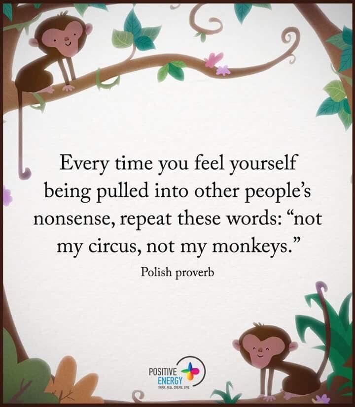 While humming the circus theme. lol