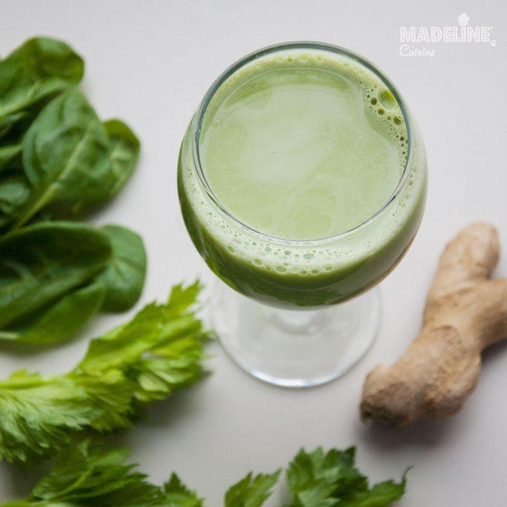 Super suc verde / Super green juice - Madeline's Cuisine