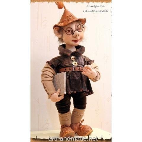 Doll Storyteller. Author Catherine Sapozhnikova - arthandmade.net/... Doll, textile doll, sculpture textile doll, interior doll, handmade doll, gift, original gift, interior, handmade, craft, Gallery Magical World, кукла, купить куклу, текстильная кукла, скульптурно-текстильная кукла, кукла ручной работы, подарок, оригинальный подарок, ручная работа, интерьер, Галерея Волшебный мир