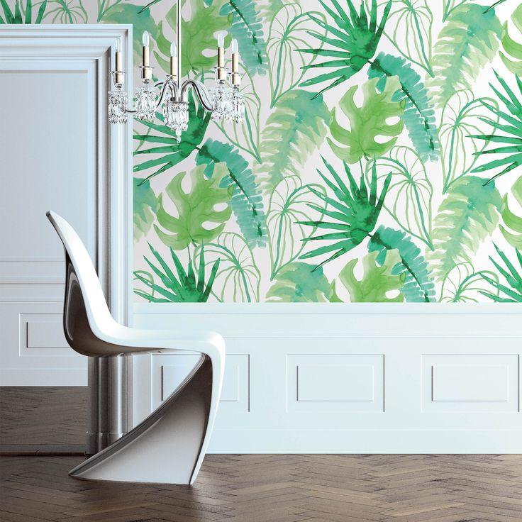 Moro num país tropical ♫ ♪  http://www.delamaison.fr/papier-peint-intisse-motif-tropical-troop-p-192139.html