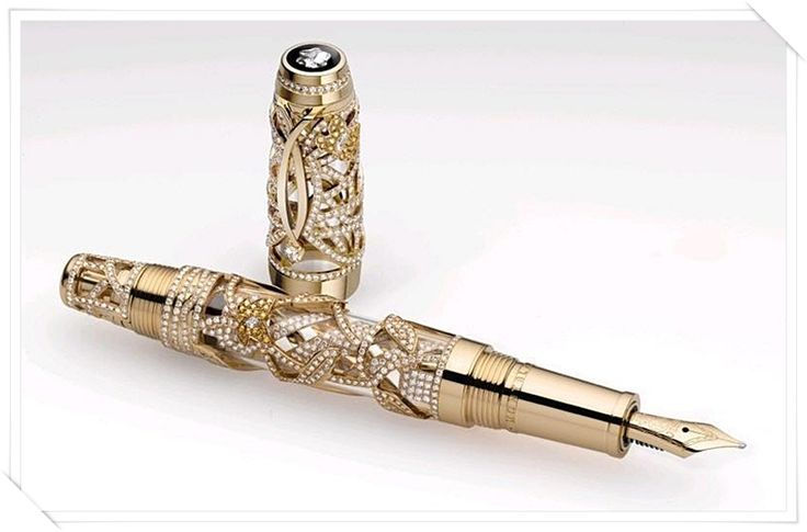 TOP 10 Most Expensive Pens Ever | Unique & Insanely Designed Tributes