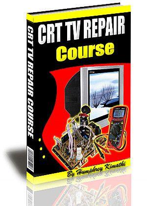 crt tv repair ebook