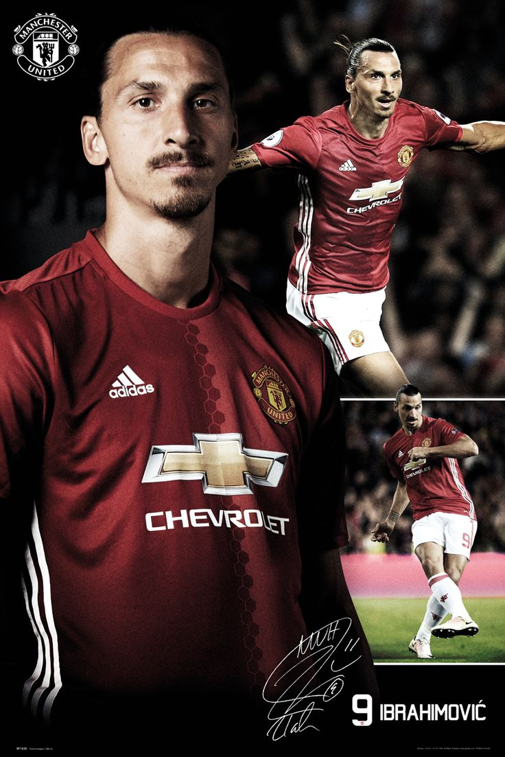 #Manchester United Ibrahimovic Collage 16/17 Maxi #Manchester United Ibrahimovic Collage 16/17 Maxi Poster (Barcode EAN=5028486381975)