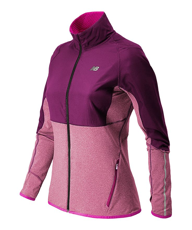 New Balance Mulberry Raptor Jacket | zulily