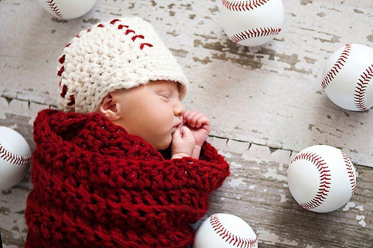 Newborn Baseball Pic