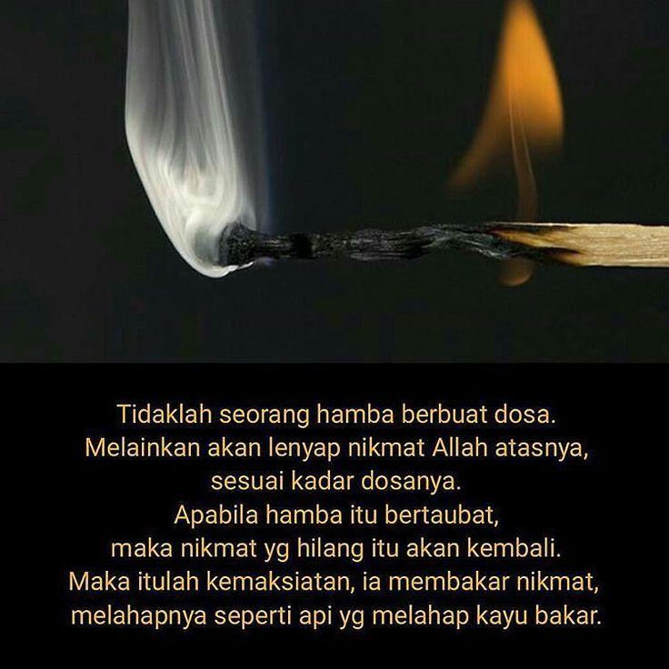 Reminder..  .  Follow @IndonesiaBertauhid  Follow @IndonesiaBertauhid  Follow @IndonesiaBertauhid   ___ #quoteoftheday #inspired #motivation #quote #quotes #islam #islamic #instapic #lifequote #instaquote #islamicquote #hijab #jadibaik #beraniberhijrah #belajar #learn #love #life #hadits #alquran #dakwah #wiseword #world #word #muslim #deen #reminder #katabijak #muslimdesign #fire http://ift.tt/2f12zSN