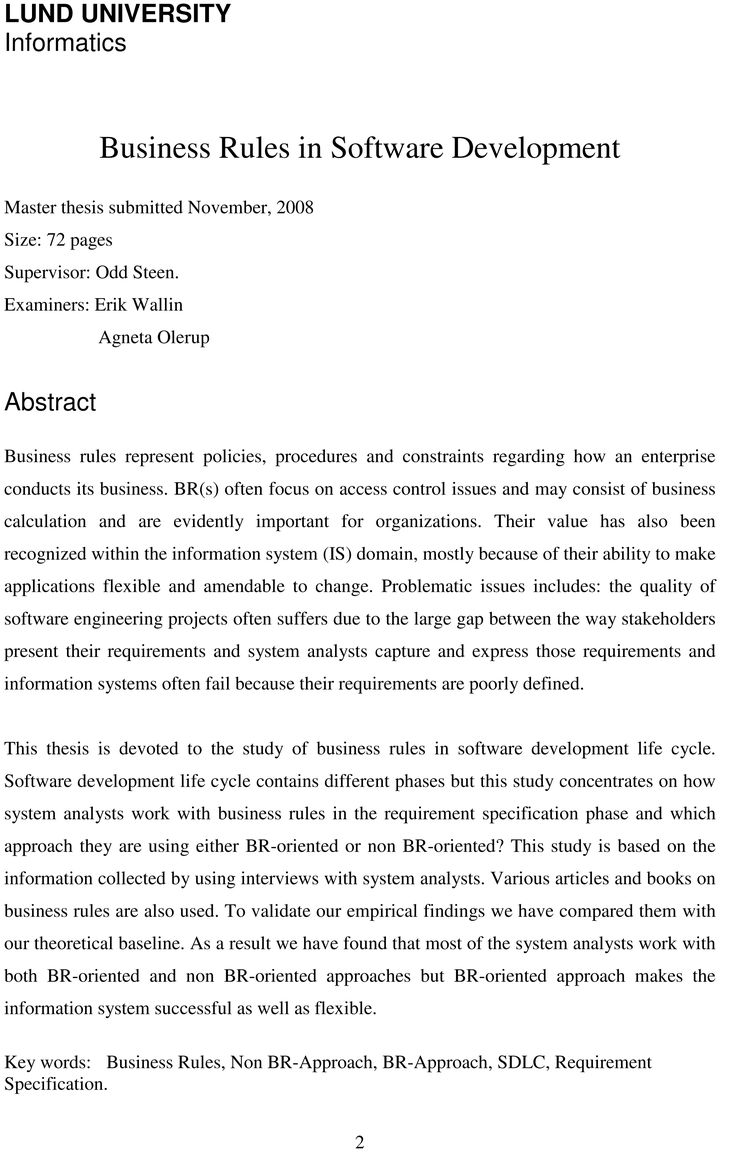 dissertations abstracts