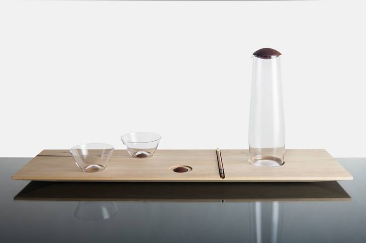 Kristýna Venturová: Pralinka - nápojoví set (set of glasses and decanter)