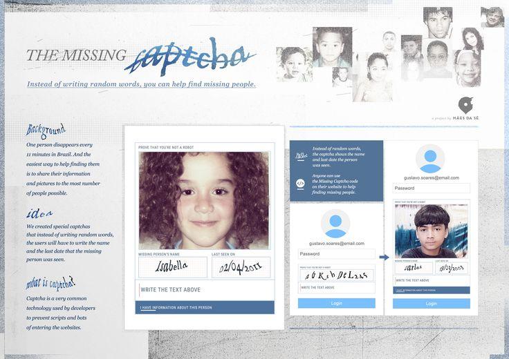 The Missing Captcha - Fred Corazza - Diretor de Arte