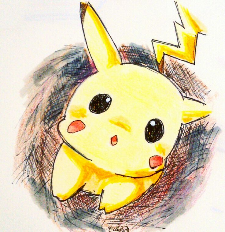 Chibi Pikachu 3d art