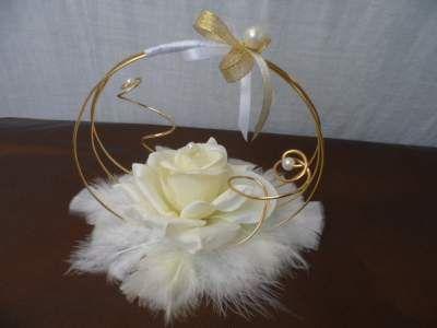 décorrations fait avec fil Aluminium comment les fabriquer | Passionnée par le monde des fleurs, je vous montre ici des modèles ...