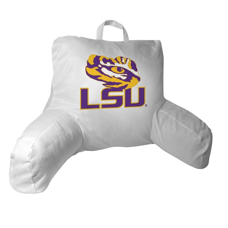 LSU Collegiate 20.5x21 Bed Rest Pillow