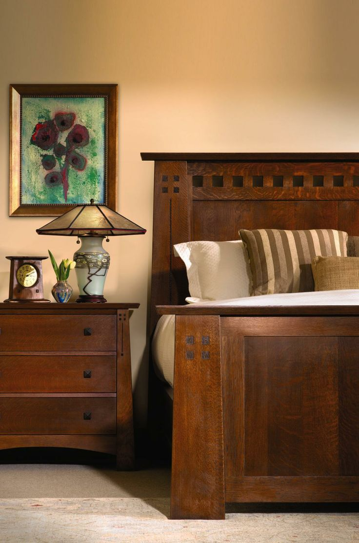 Arts and crafts style bedroom furniture - Find This Pin And More On Stickley Mission Furniture
