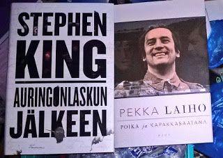 Kirjabloki : Voitin liput Helsingin kirjamessuille! Muuten en olisi messuille päässytkään.