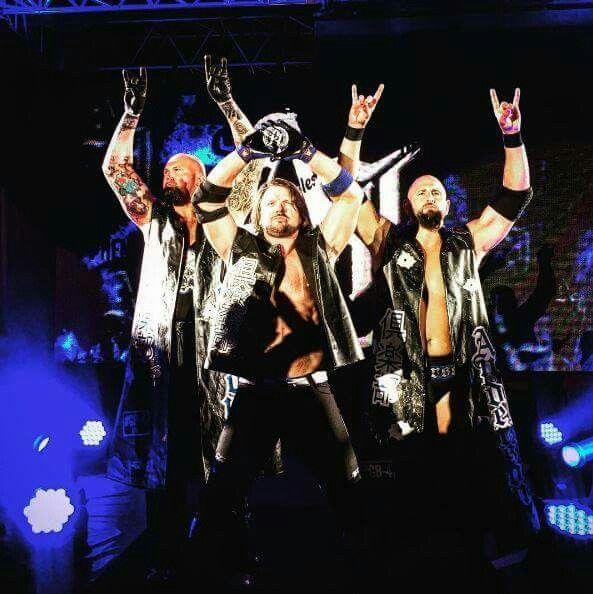 AJ Styles Karl Anderson & Luke Gallow