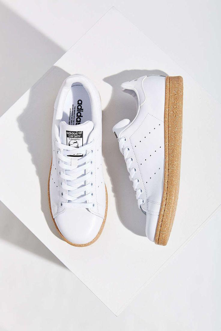 Adidas★Stan Smith Gum-Sole Sneaker