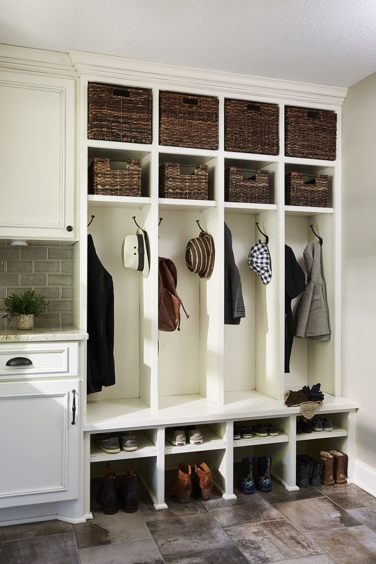 Furniture entryway this mudroom keeps things organized by taking
