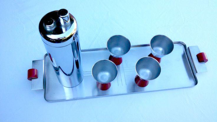 Art Deco Revere Zephyr Cocktail Set
