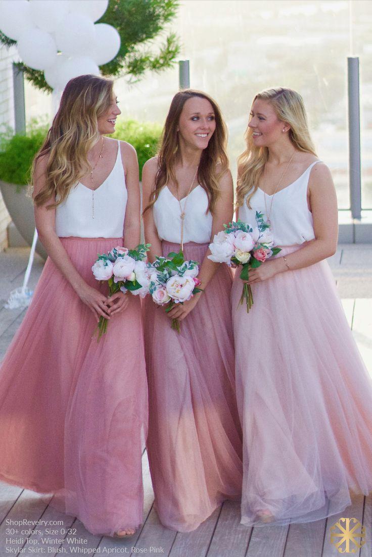 18 best romantic bridesmaid dresses 3 images on pinterest skylar tulle skirt tulle skirtsromantic bridesmaid ombrellifo Images