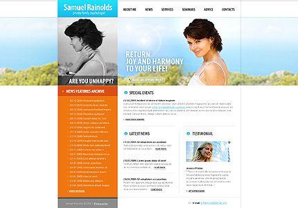 Samuel Rainolds Website Templates by Delta