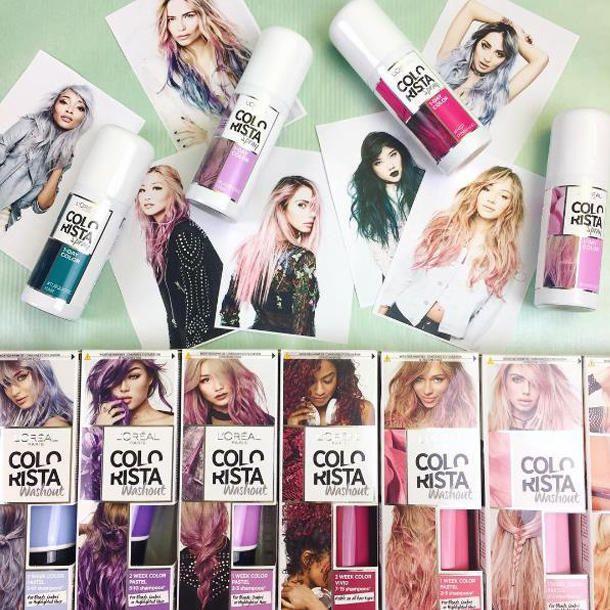 Neu bei dm: Die Colorista-Haarfarben von L'Oréal