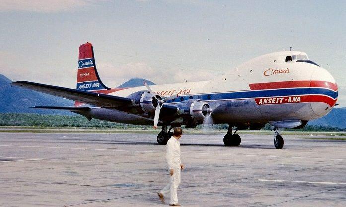ANSETT ATL-98A Carvair  (VH-INJ)