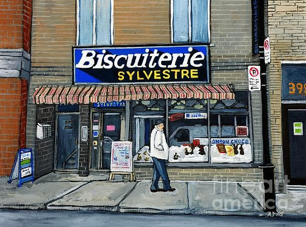 Biscuiterie Sylvestre Verdun Painting