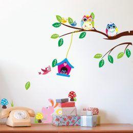 Väggdekor - Söta blommor och fjärilar | Väggdekor & Wallstickers