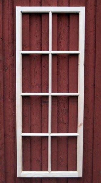 Fönster med spröjs 8 rutor:Nacka Byggnadsvård AB