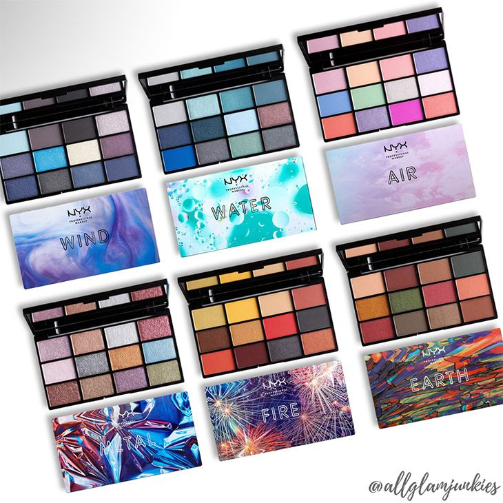 [Neu] NYX In Your Element Shadow Palette Air Earth