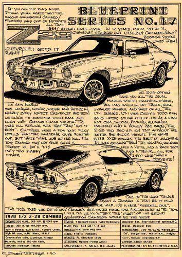 1970 Z28 Camaro Art Print K. Scott Teeters - Illustrated Corvette Series http://www.amazon.com/dp/B008Z3WQ60/ref=cm_sw_r_pi_dp_QwA1tb04JP1QXT82