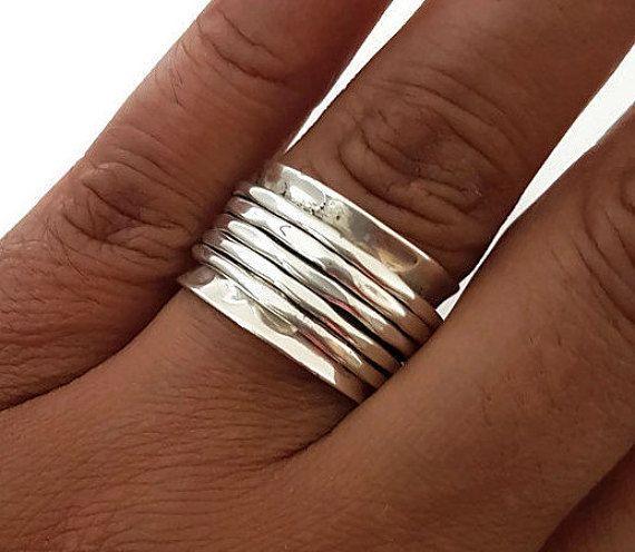 15 % Rabatt auf Spinner Ring Sterlingsilber von MistryGems auf Etsy