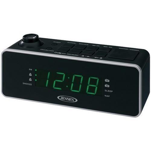 JENSEN(R) JCR-235 Dual Alarm Projection Clock Radio R810-JENJCR235