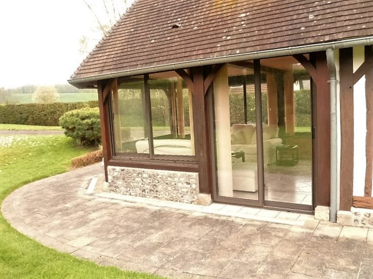 Best Vrandas  Bow Window Images On   Conservatories