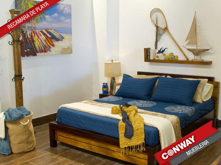Una rec mara al estilo marinero para tu casa de playa o - Muebles de playa ...