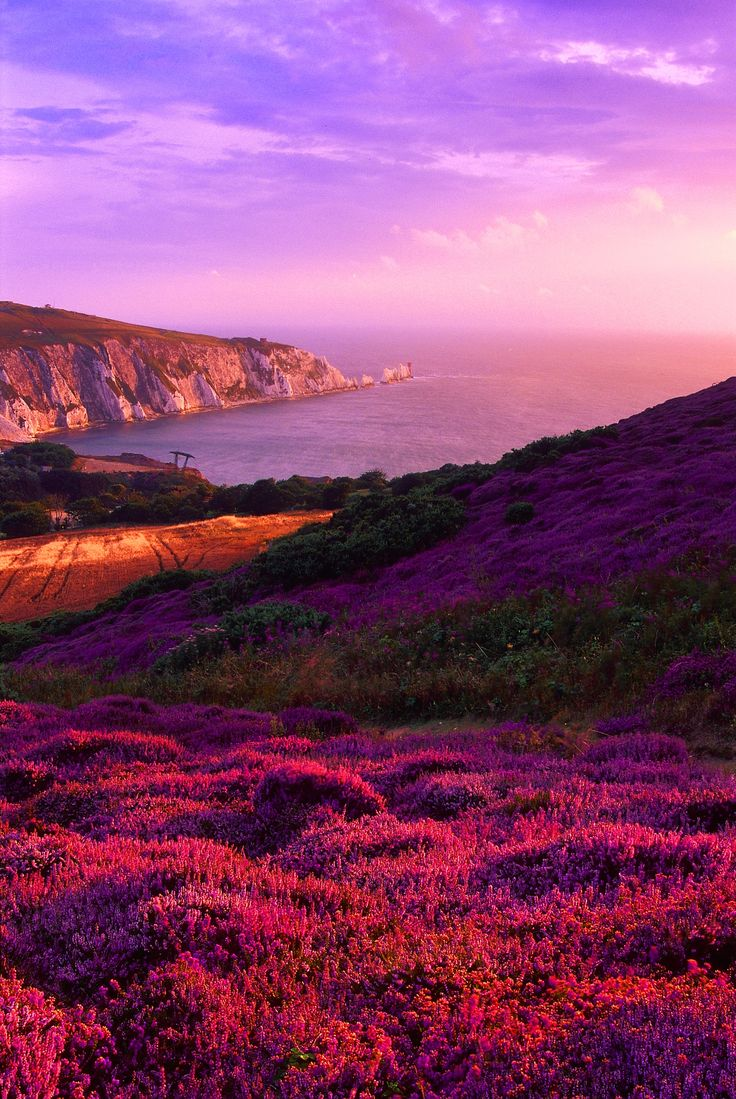 The Needles Channel at Dusk ~ Isle of Wight, England