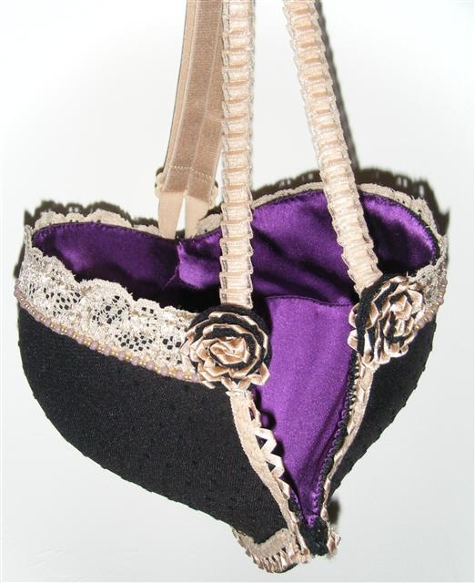 Michele English Textile Design Make a bra bag