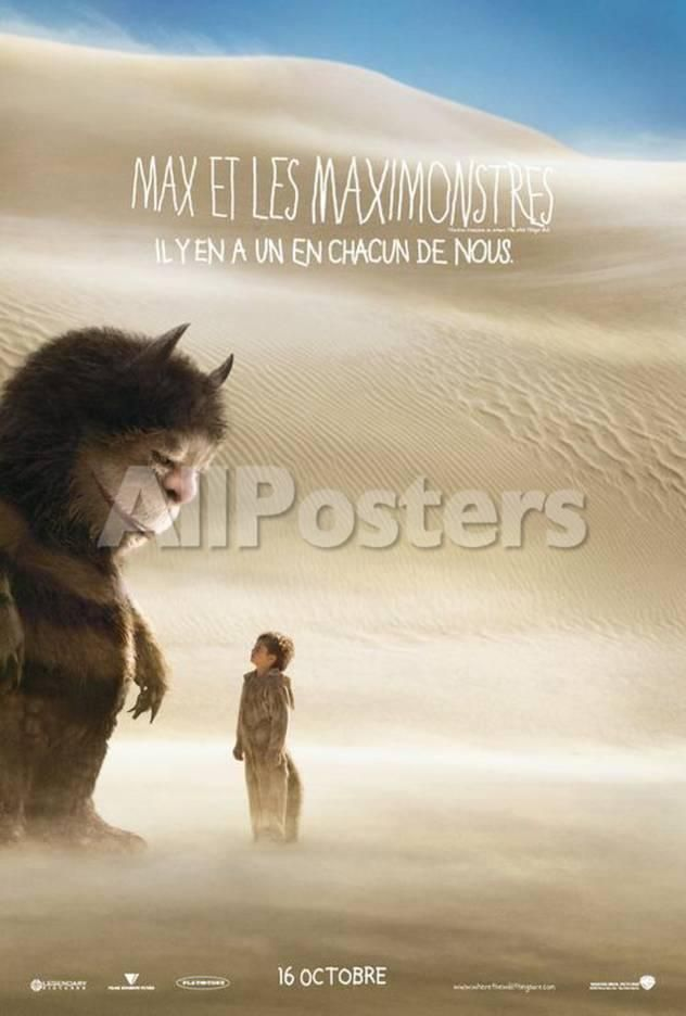 Where the Wild Things Are - French Style Movies Poster - 69 x 102 cm