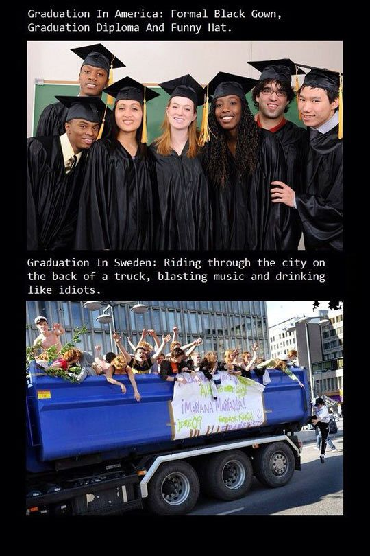 Graduation In Sweden